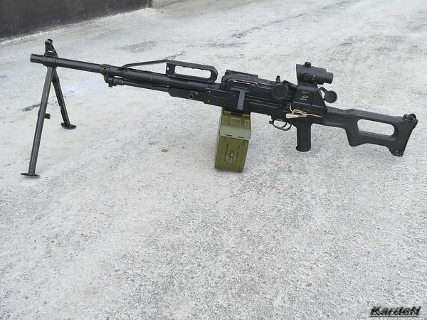 Пулемет Калашникова пехотный «Печенег» фото 26