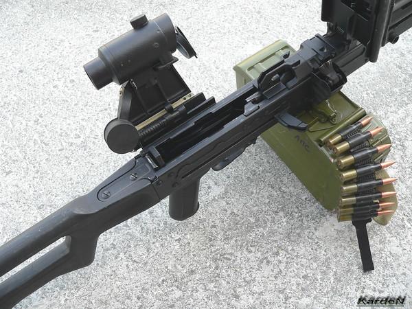 Пулемет Калашникова пехотный «Печенег» фото 28