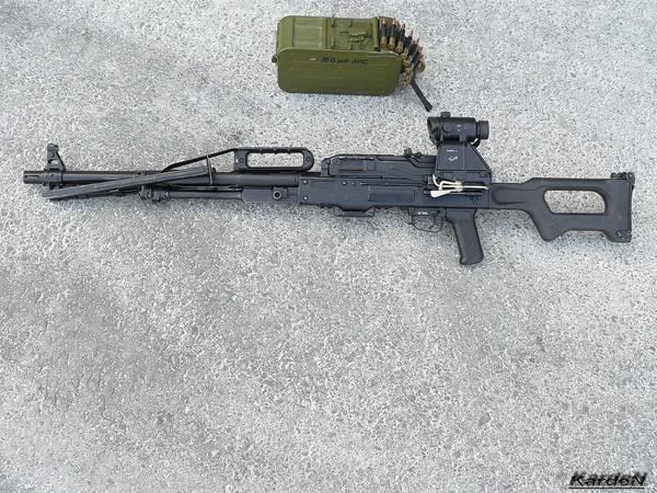 Пулемет Калашникова пехотный «Печенег» фото 32