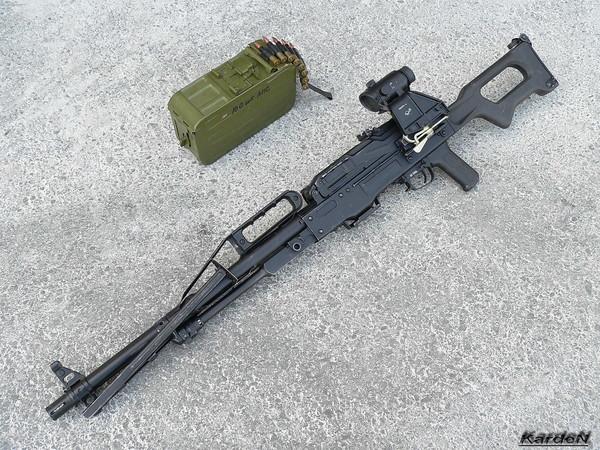 Пулемет Калашникова пехотный «Печенег» фото 34