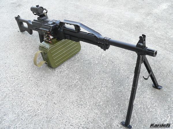 Пулемет Калашникова пехотный «Печенег» фото 40