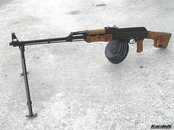 Ручной пулемет Калашникова - РПК фото 2