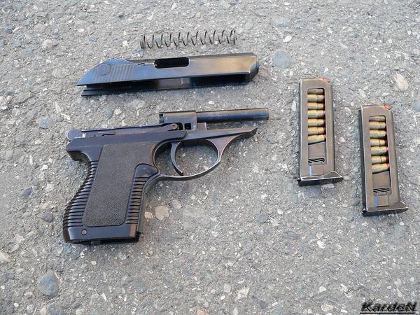 пистолет самозарядный малогабаритный - ПСМ фото 20