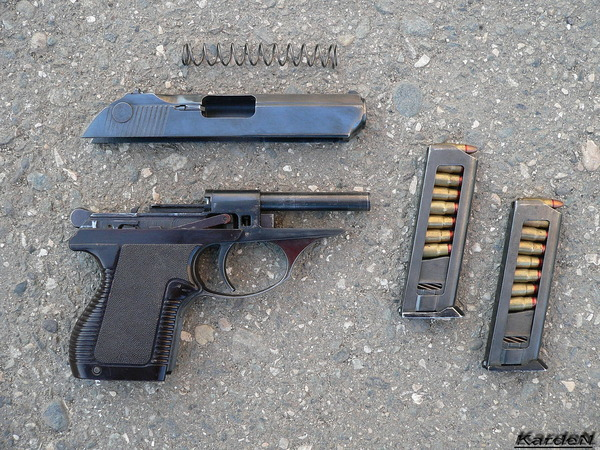 пистолет самозарядный малогабаритный - ПСМ фото 21