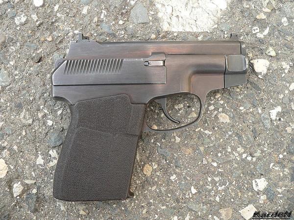 пистолет самозарядный специальный ПСС фото 1