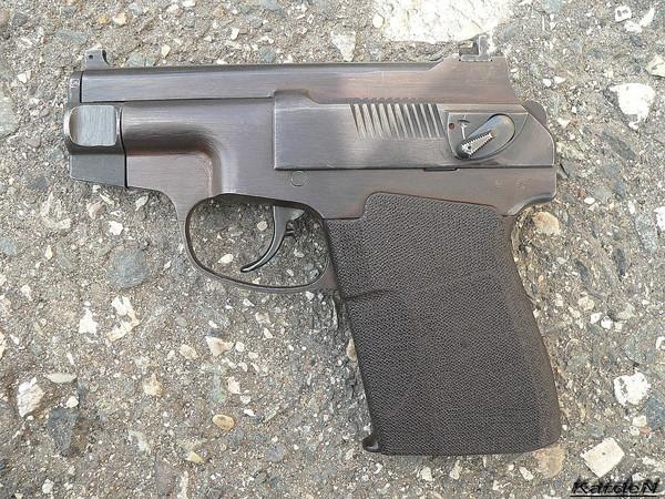 пистолет самозарядный специальный ПСС фото 2