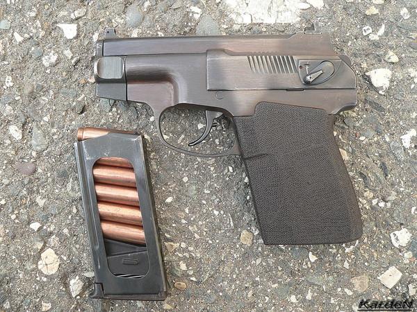 пистолет самозарядный специальный ПСС фото 3