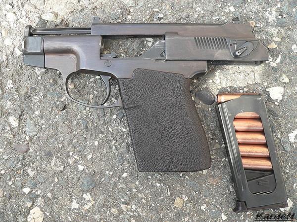 пистолет самозарядный специальный ПСС фото 4