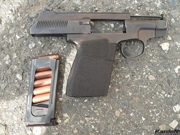 пистолет самозарядный специальный ПСС фото 5