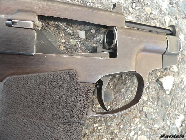 пистолет самозарядный специальный ПСС фото 6