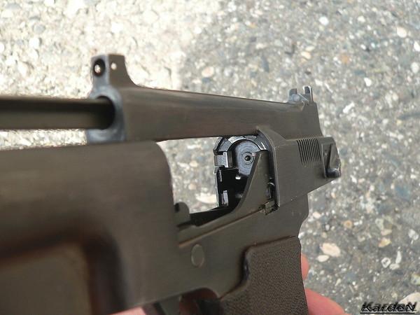 пистолет самозарядный специальный - ПСС фото 7