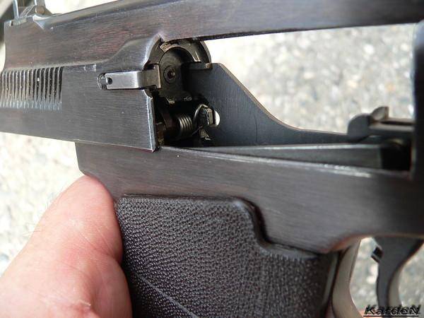 пистолет самозарядный специальный ПСС фото 8