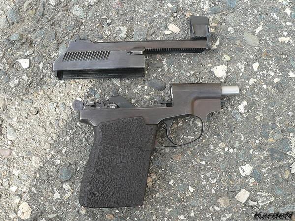 пистолет самозарядный специальный - ПСС фото 11