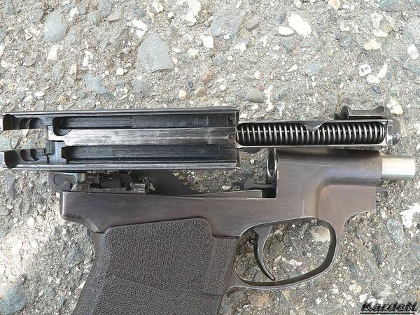 пистолет самозарядный специальный - ПСС фото 12
