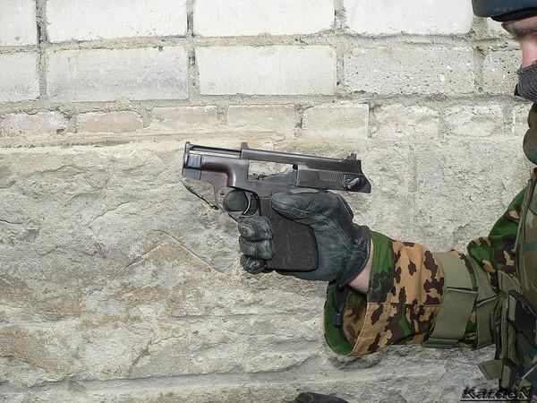 пистолет самозарядный специальный - ПСС фото 14