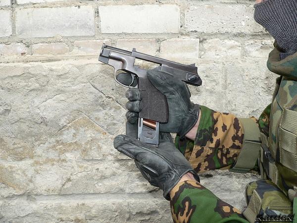 пистолет самозарядный специальный - ПСС фото 18