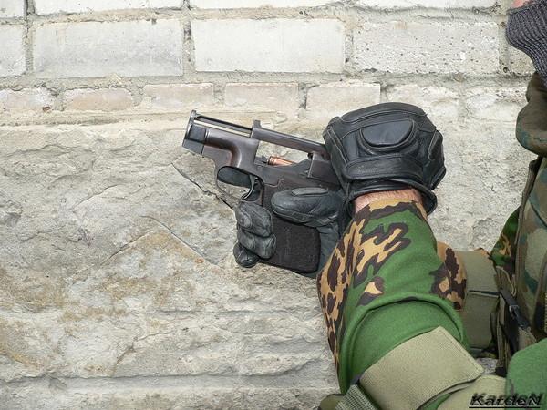 пистолет самозарядный специальный - ПСС фото 19