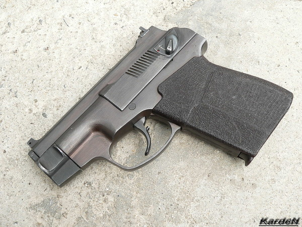 пистолет самозарядный специальный - ПСС фото 21