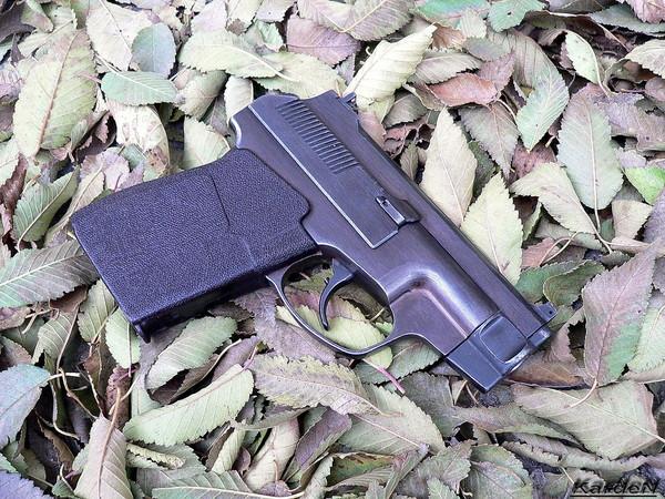 пистолет самозарядный специальный - ПСС фото 22