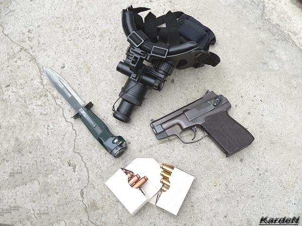 пистолет самозарядный специальный - ПСС фото 25