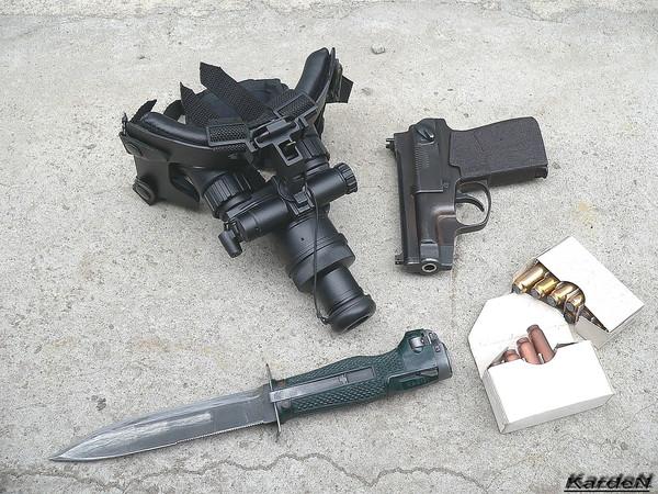 пистолет самозарядный специальный - ПСС фото 27