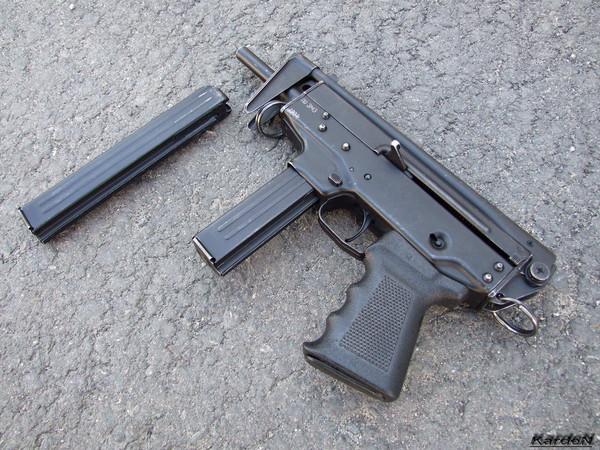 пистолет-пулемет ПП-91 Кедр фото-8