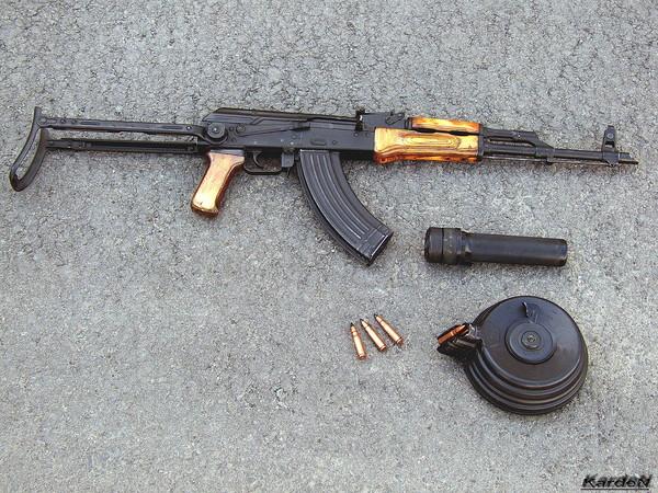 Автомат Калашникова модернизированный АКМС фото 1