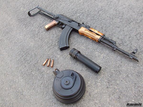 Автомат Калашникова модернизированный АКМС фото 5