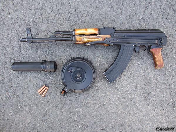 Автомат Калашникова модернизированный АКМС фото 10