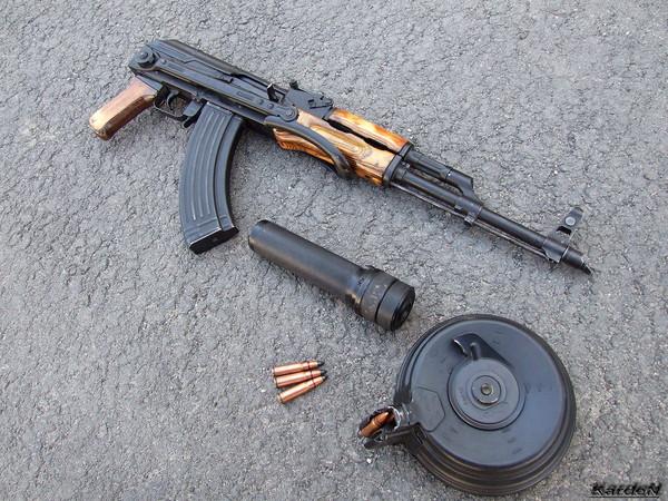 Автомат Калашникова модернизированный АКМС фото 13
