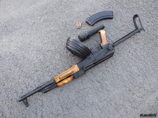 Автомат Калашникова модернизированный АКМС фото 15