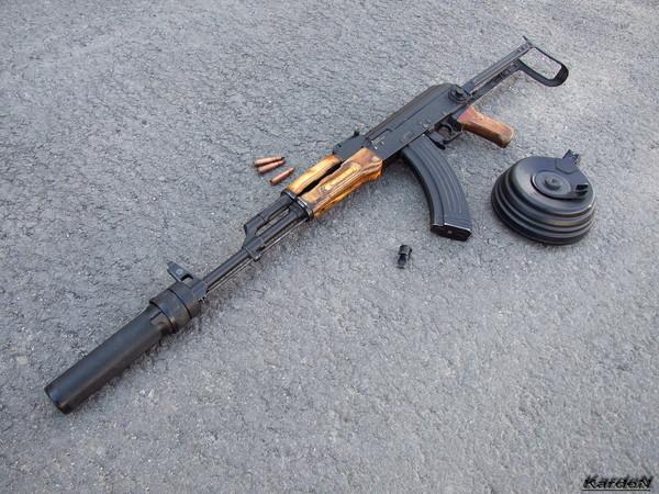 Автомат Калашникова модернизированный АКМС фото 24