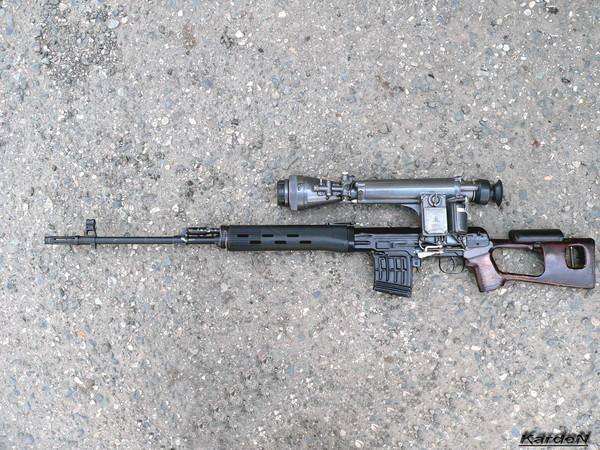 снайперская винтовка Драгунова - СВД фото 47
