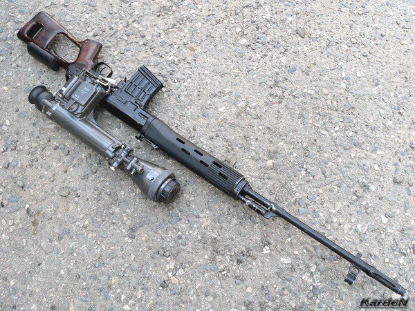 снайперская винтовка Драгунова - СВД фото 49