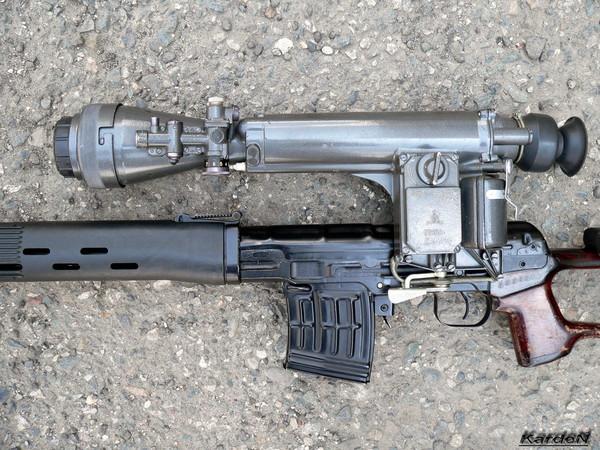 снайперская винтовка Драгунова - СВД фото 51