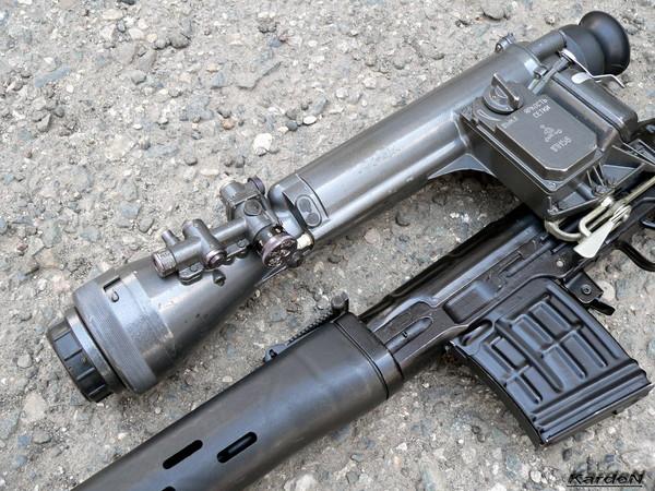 снайперская винтовка Драгунова - СВД фото 52
