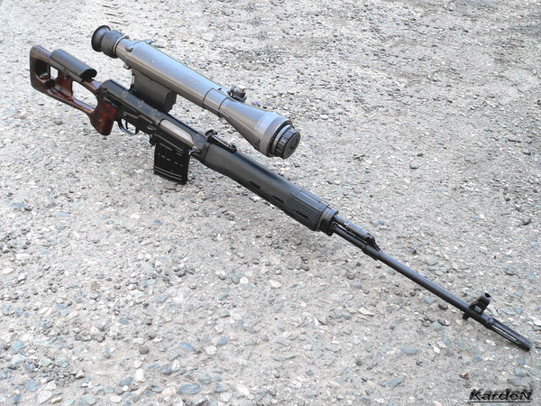 снайперская винтовка Драгунова - СВД фото 60