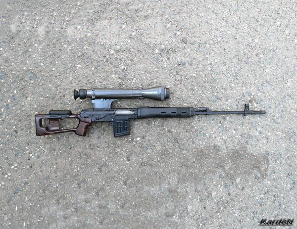 снайперская винтовка Драгунова - СВД фото-60