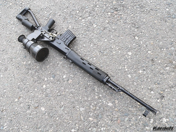 снайперская винтовка Драгунова - СВД-С фото 29