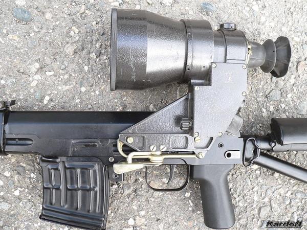 снайперская винтовка Драгунова - СВД-С фото 31