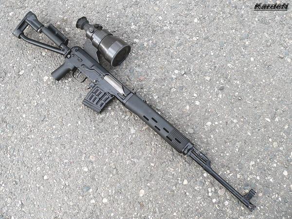 снайперская винтовка Драгунова - СВД-С фото 39