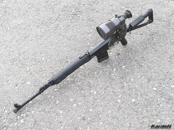 снайперская винтовка Драгунова - СВД-С фото 42