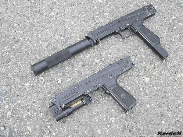пистолет-пулемет ПП-93 фото-1