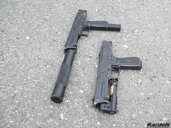пистолет-пулемет ПП-93 фото 3