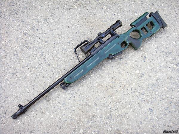 Снайперская винтовка СВ-98 фото 49