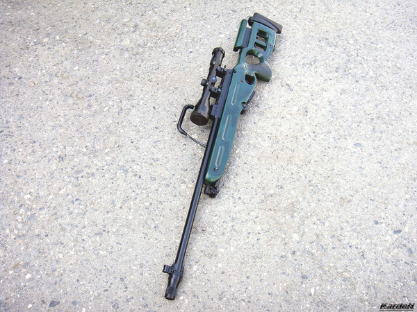 Снайперская винтовка СВ-98 фото 50