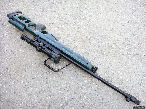 Снайперская винтовка СВ-98 фото 51