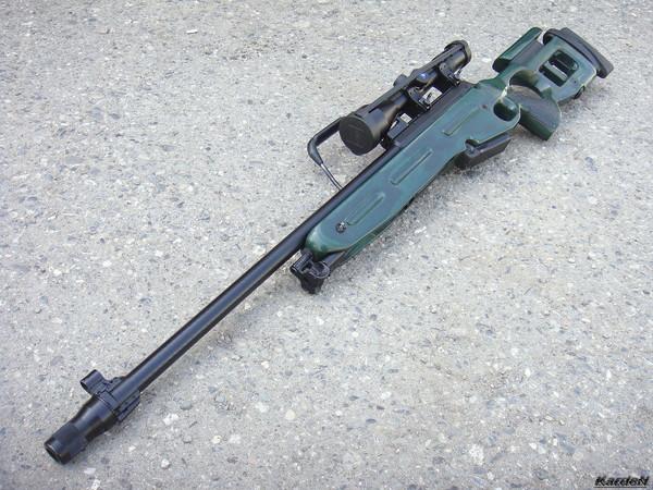 Снайперская винтовка СВ-98 фото 55