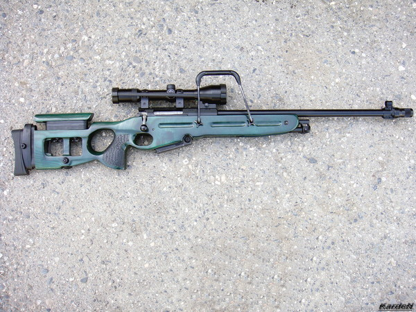Снайперская винтовка СВ-98 фото 56