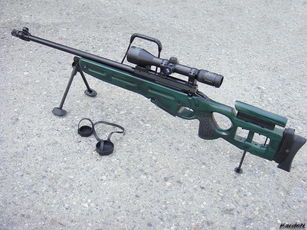 Снайперская винтовка СВ-98 фото 60